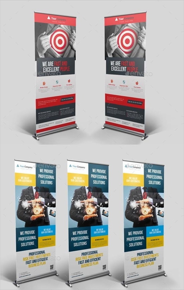 corporate pop up banner bundle