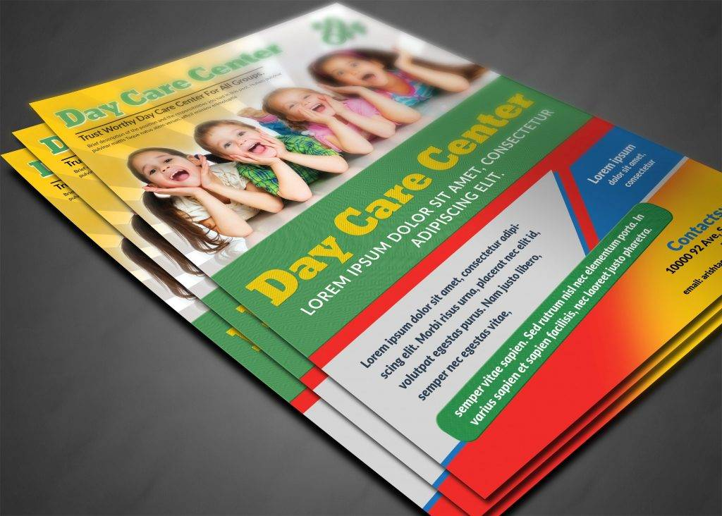 day care flyer template1