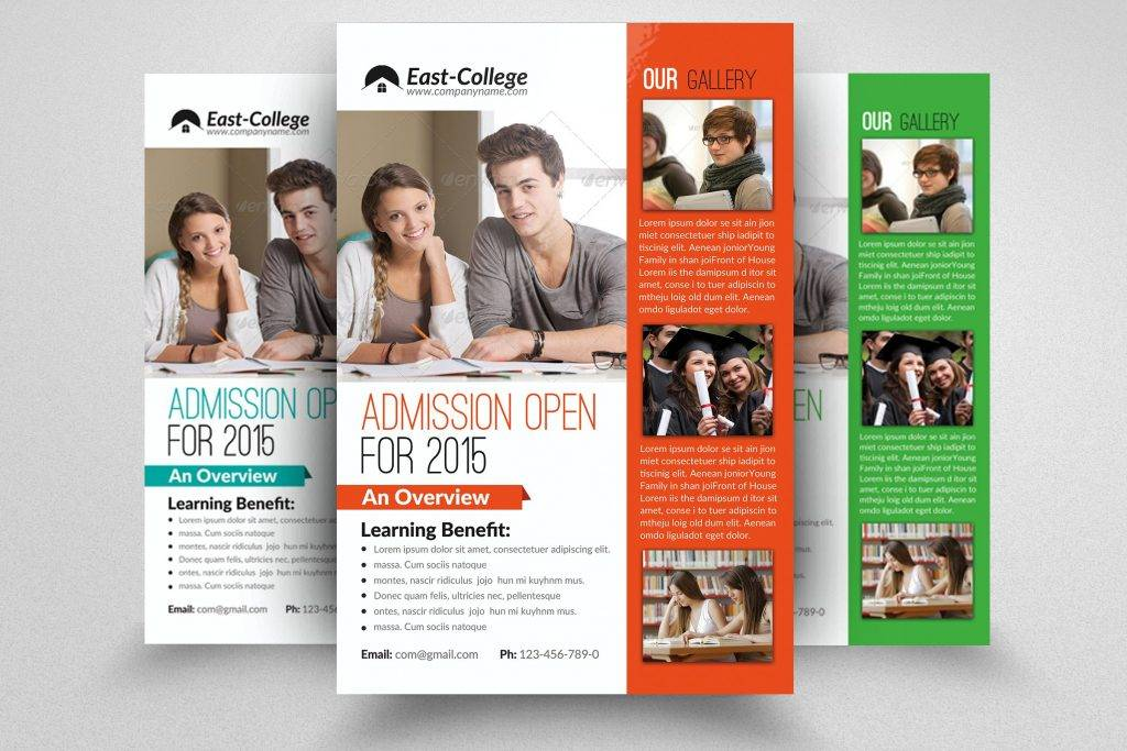 education flyer template1