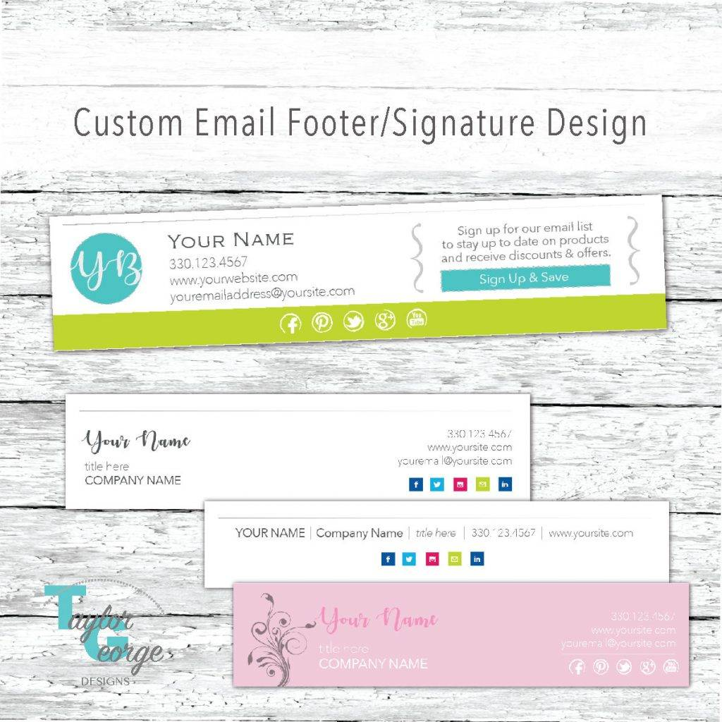 email footer template