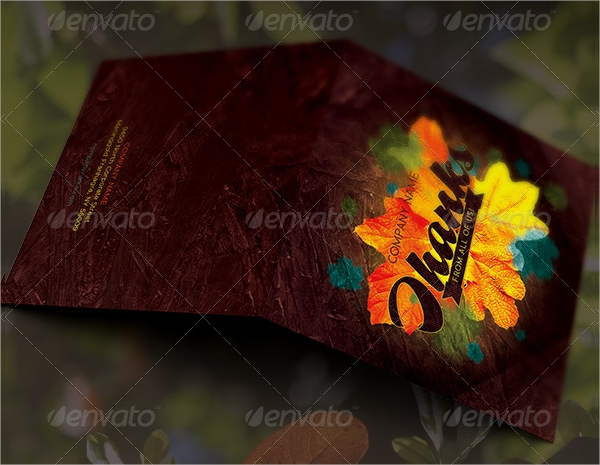 fall thank you card template1