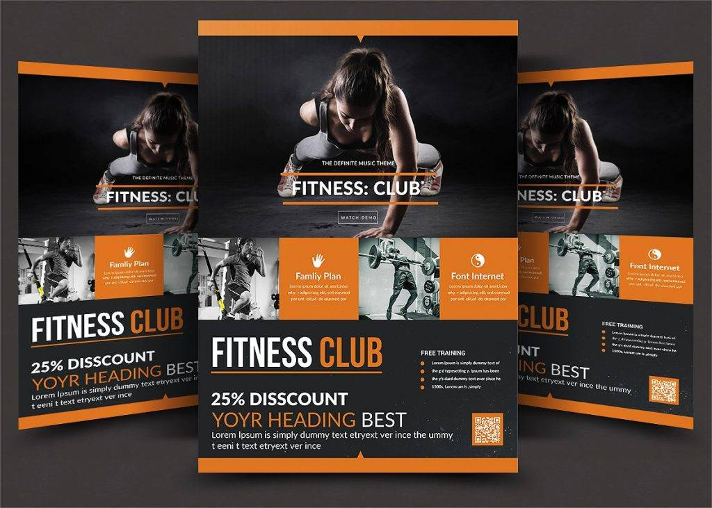 14 gym flyer designs examples psd ai