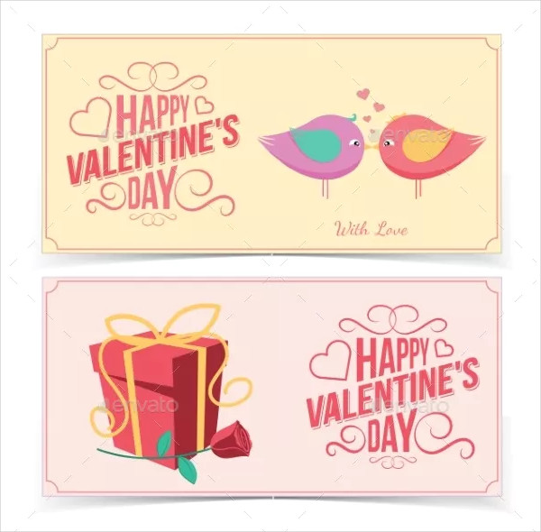 flesh valentines day banners