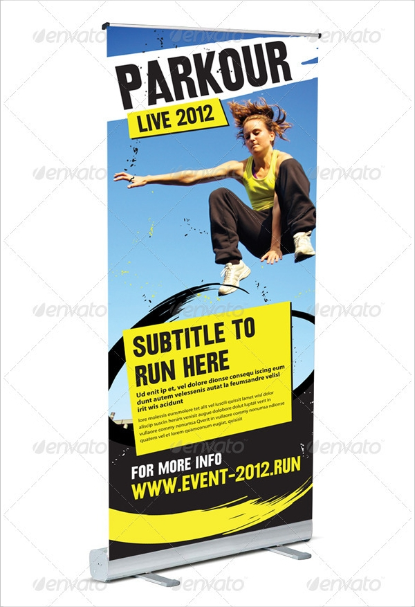 freerunning banner stand pop up1