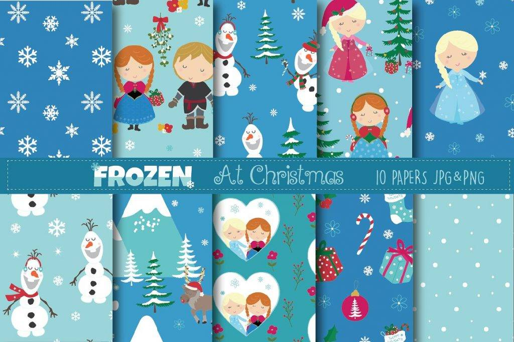 frozen greeting card designs