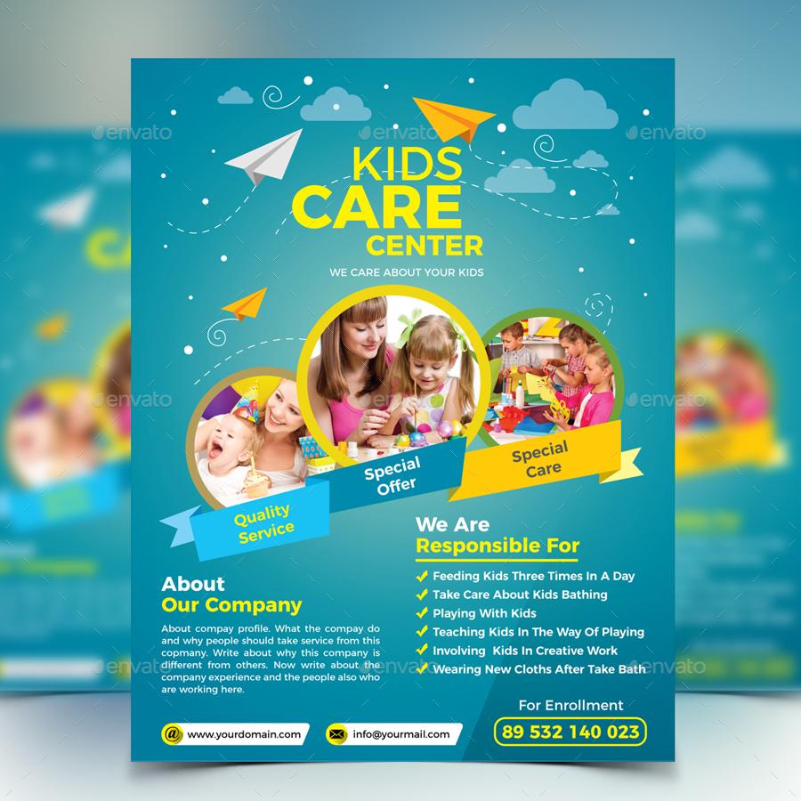 kids care flyer2