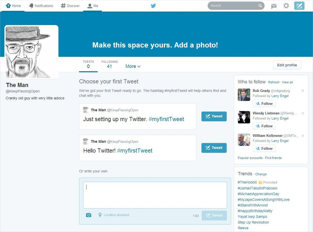 maximize your twitter bio for brand and image presentation