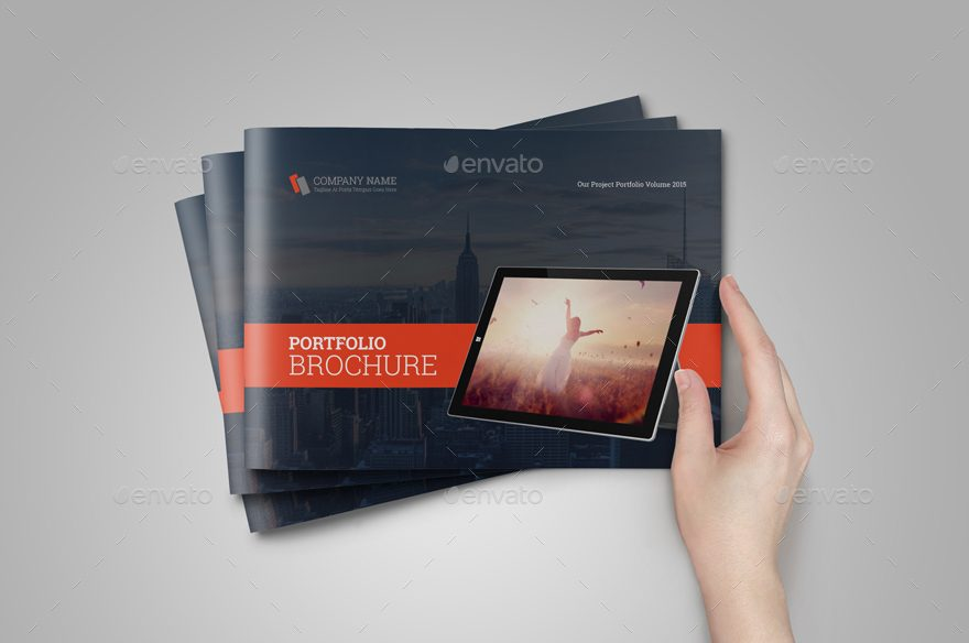 portfolio brochure catalog bundle
