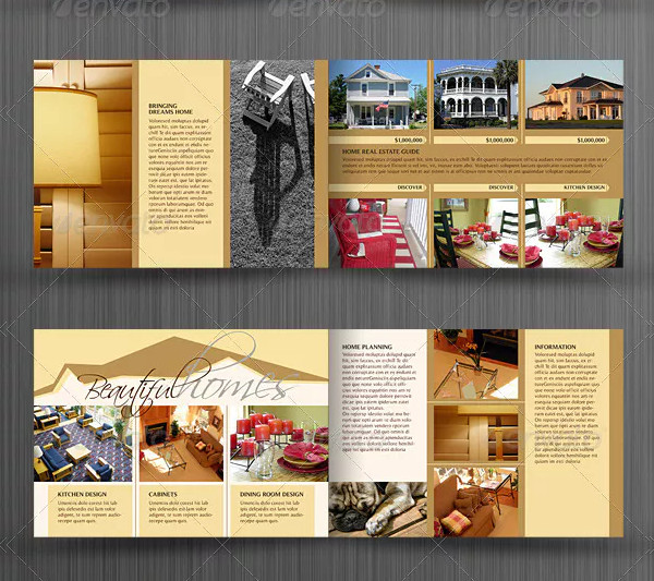 real estate catalog brochure