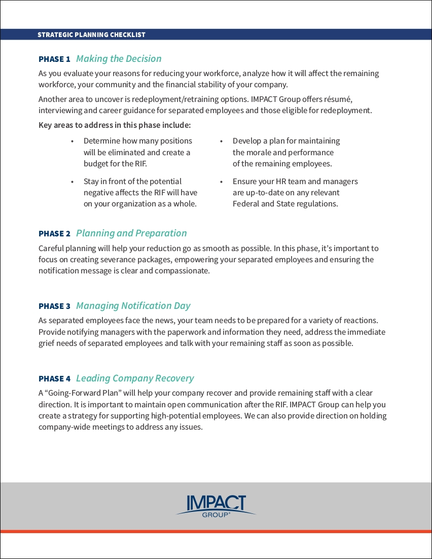 9 strategic planning checklist examples pdf