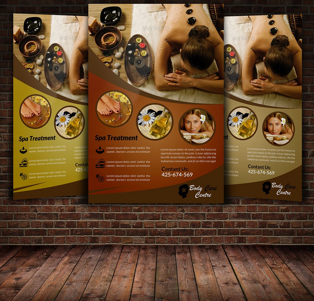17  spa flyer designs  u0026 examples  u2013 psd  ai  word  eps