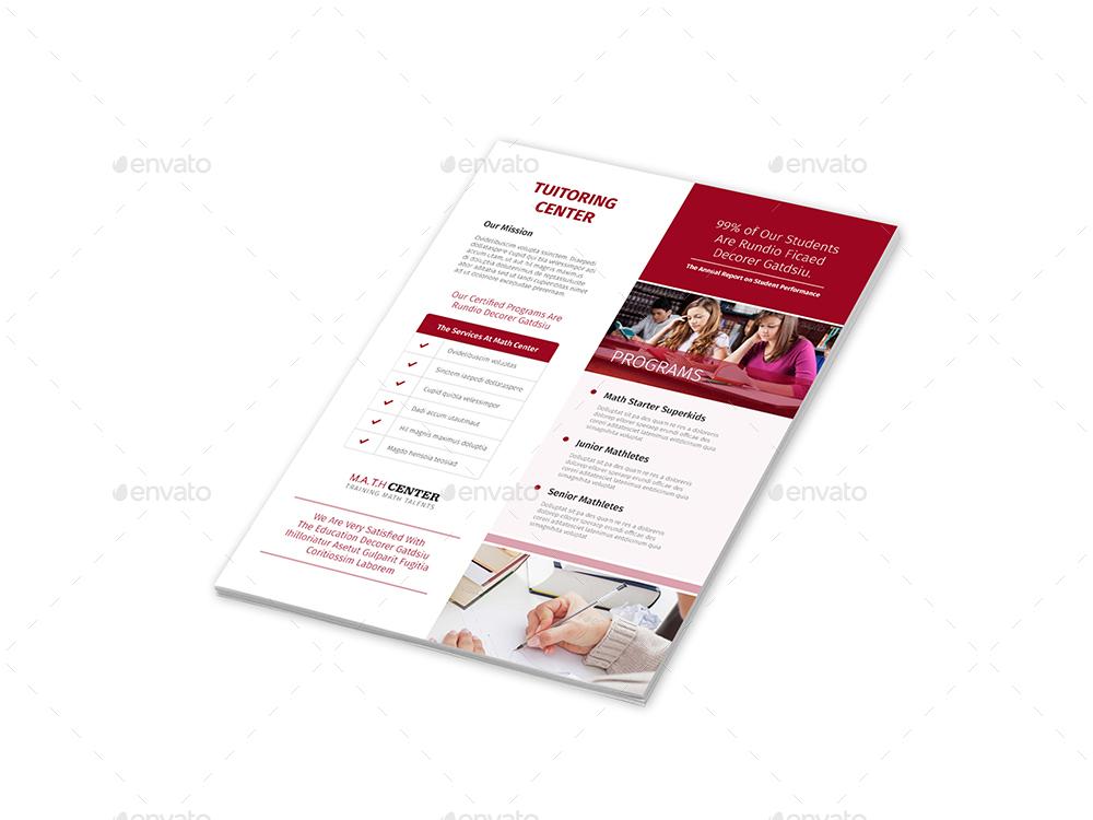 tutoring center flyers