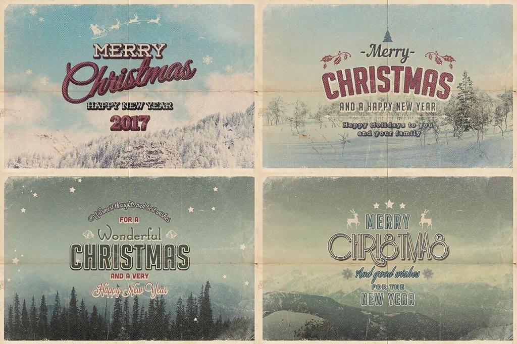 vintage christmas card1