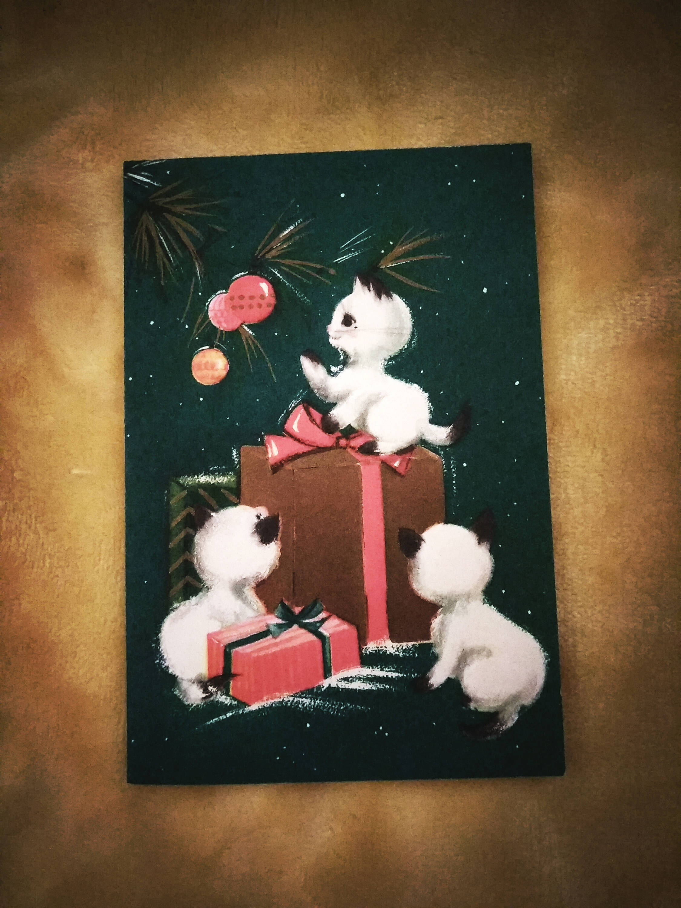 vintage christmas holiday greeting cards