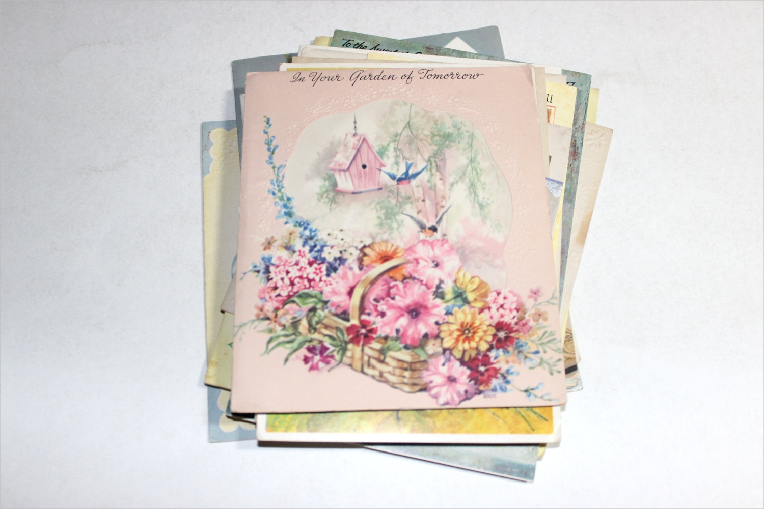 vintage greeting card variety pack