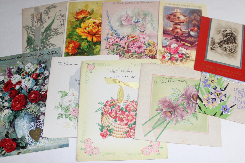 vintage greeting card variety pack1