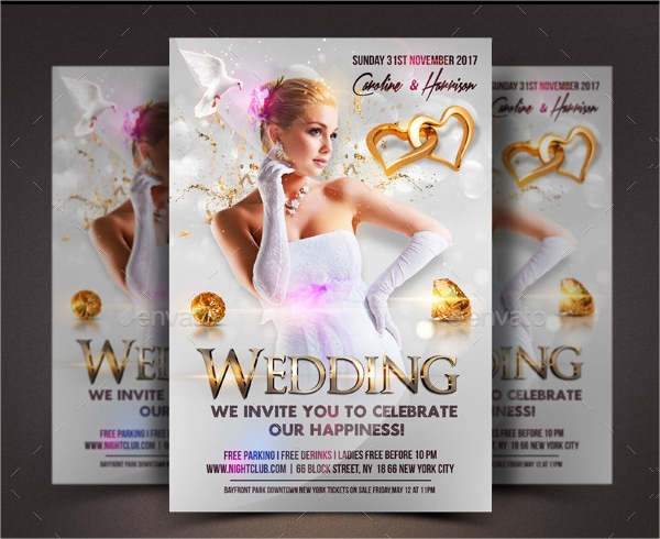 wedding invite flyer