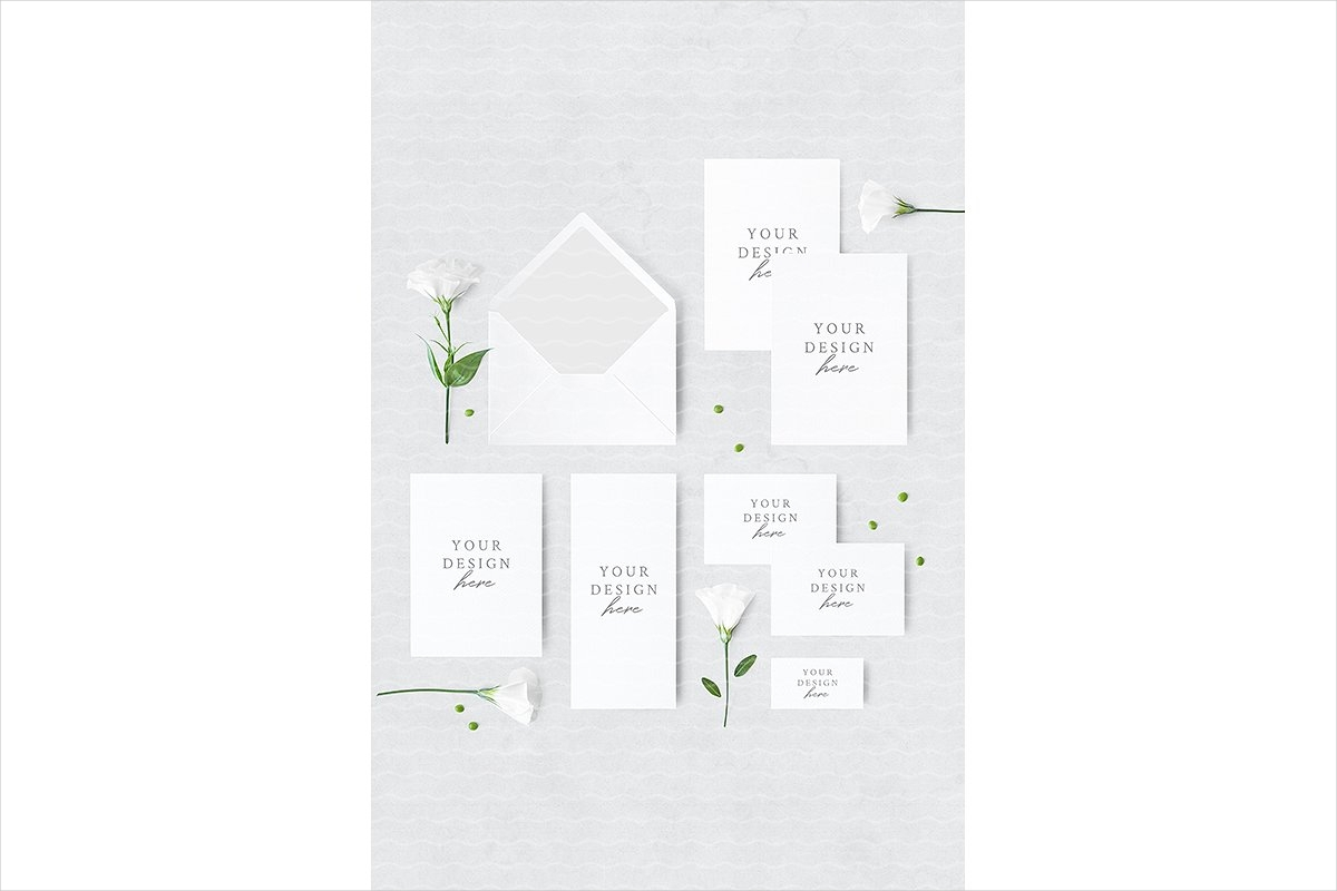 wedding suite mockup