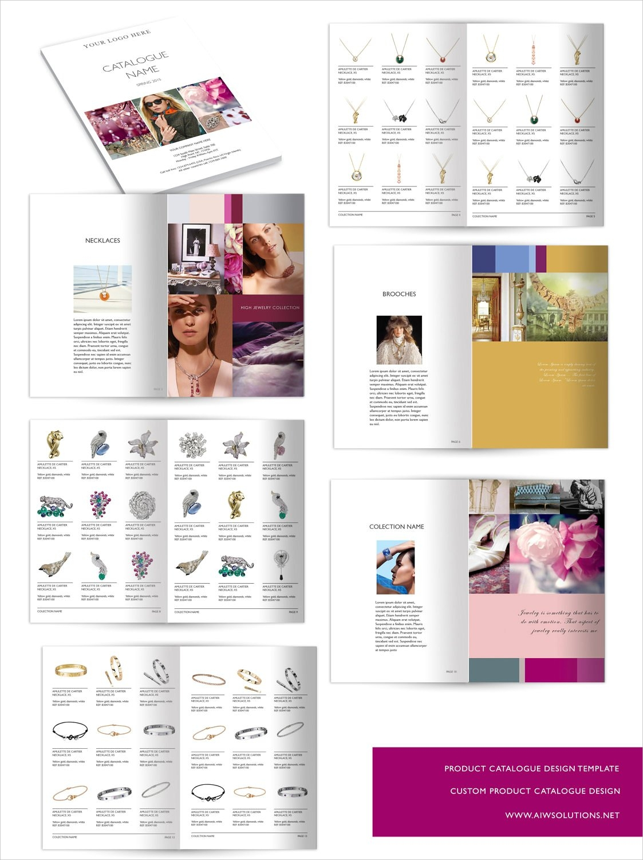 wholesale catalog template
