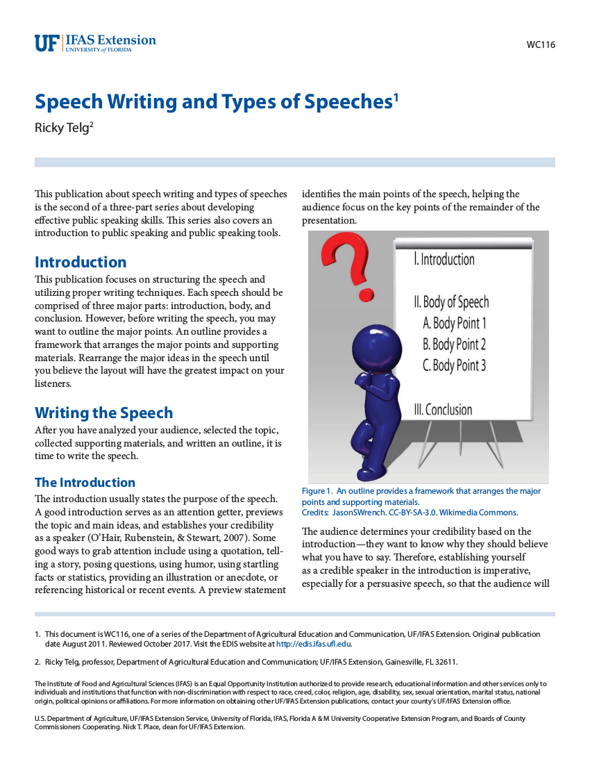 discrimination speech ideas