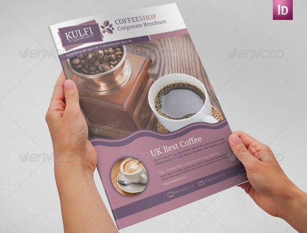 coffee brochure template1
