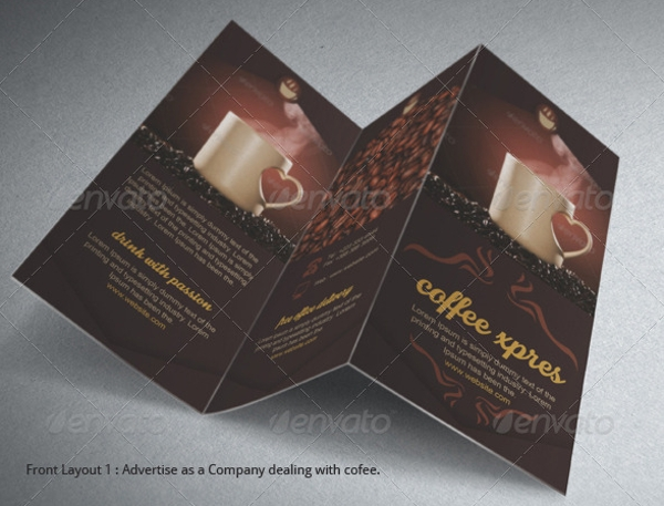 coffee brochure template2
