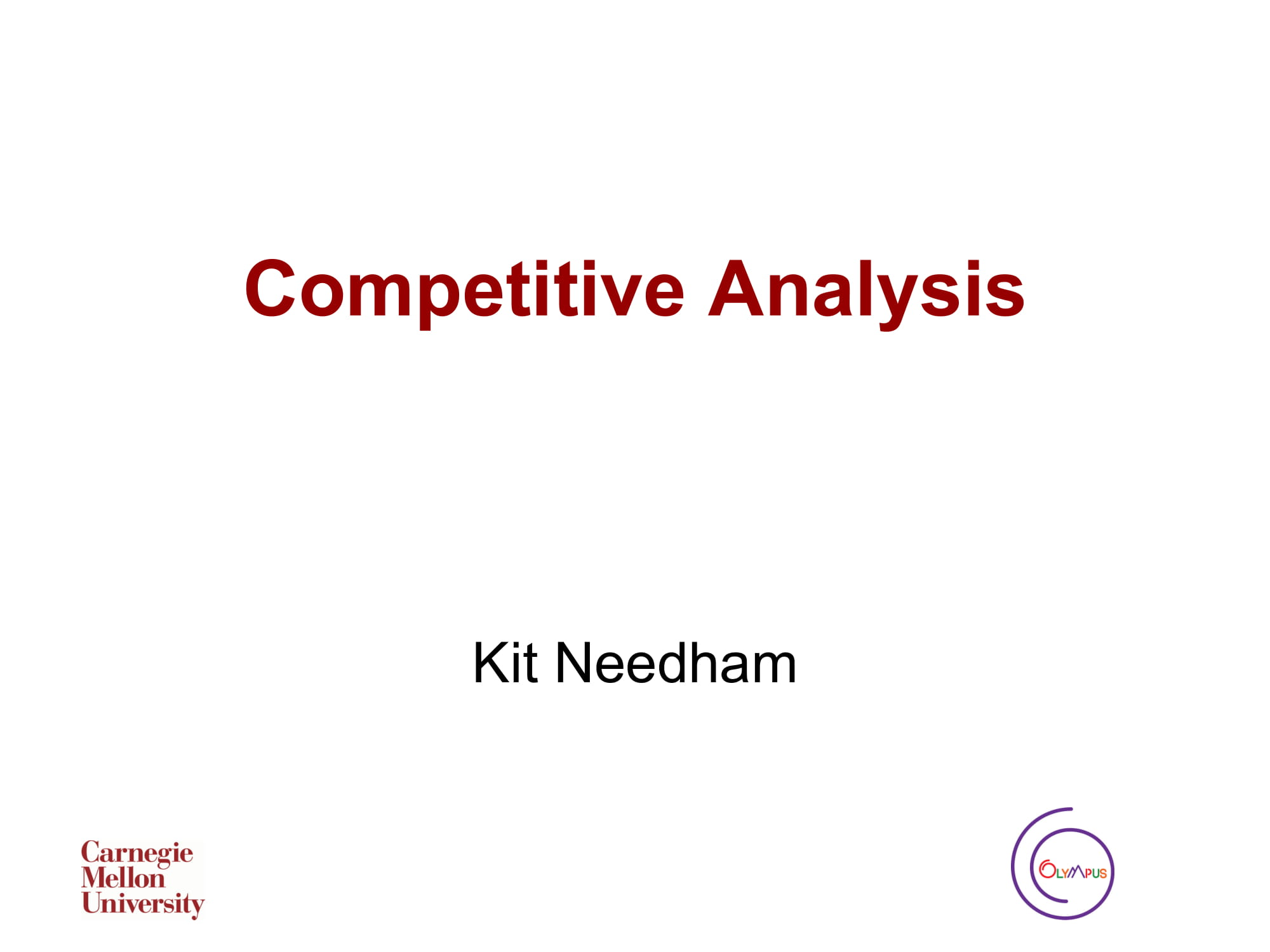 competitive analysis 01