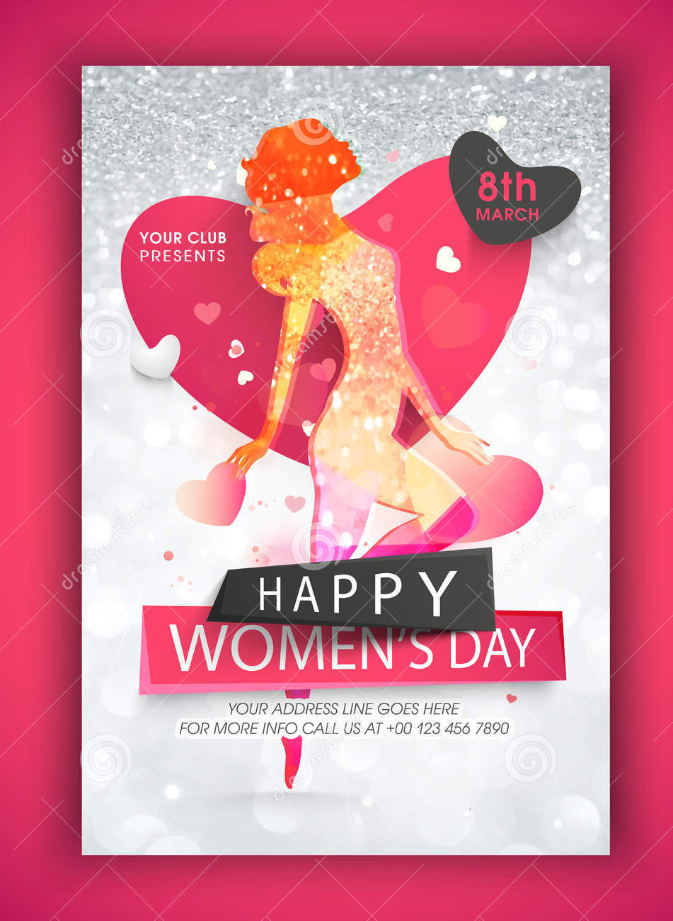 creative flyer for womens day1