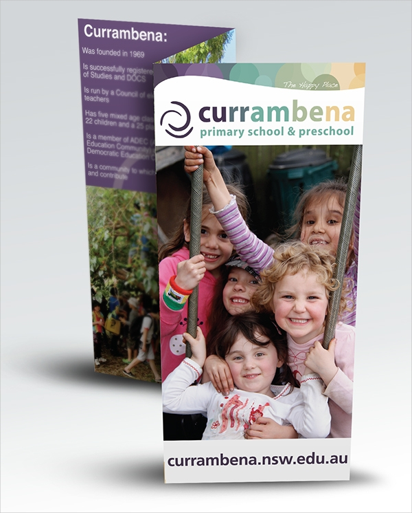 currambena primary school and preschool flyer