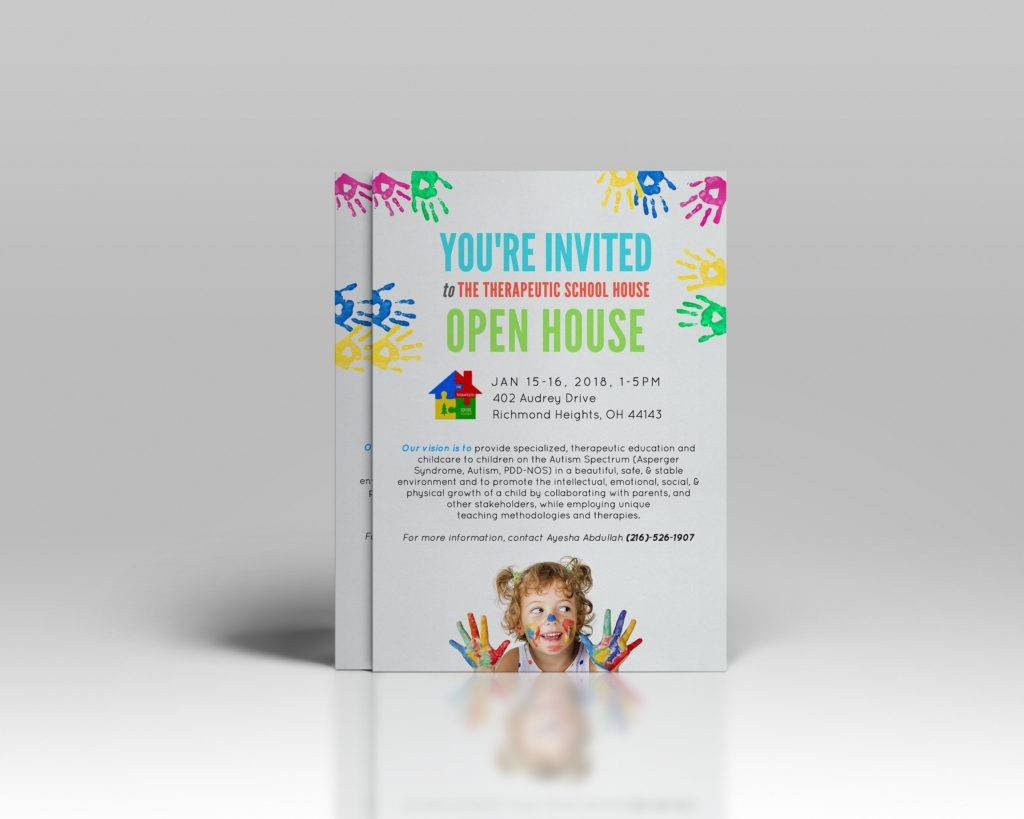 custom open house flyer