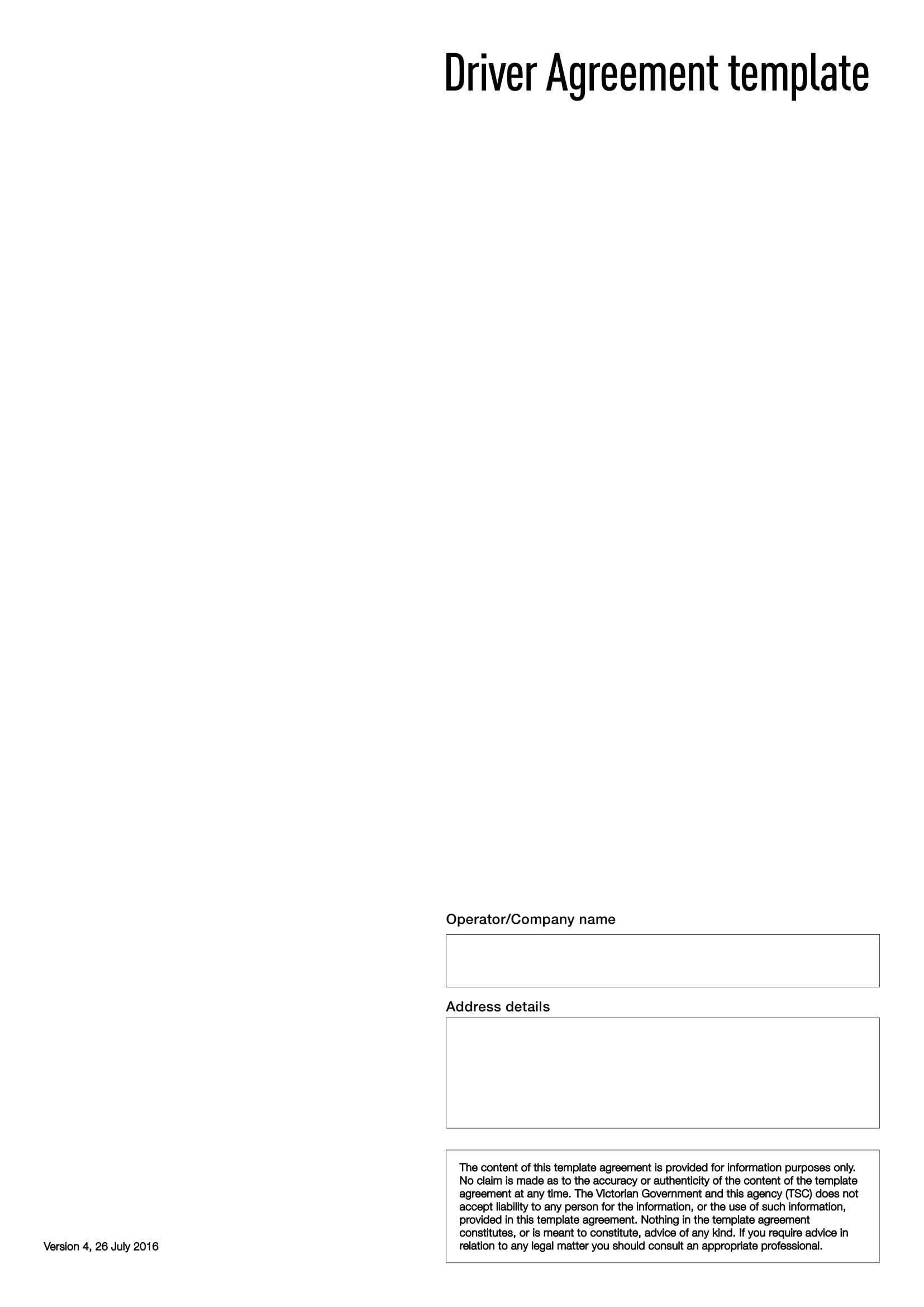 driver agreement template 01