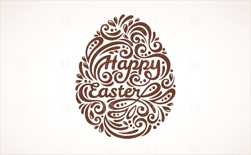 easter ornate egg