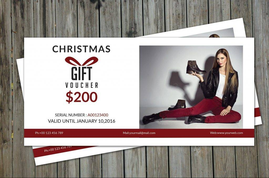fashion gift voucher template1