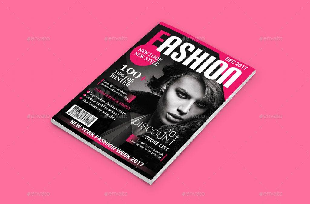 fashion magazine cover design1