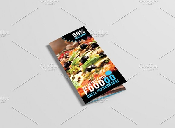 food restaurant brochure