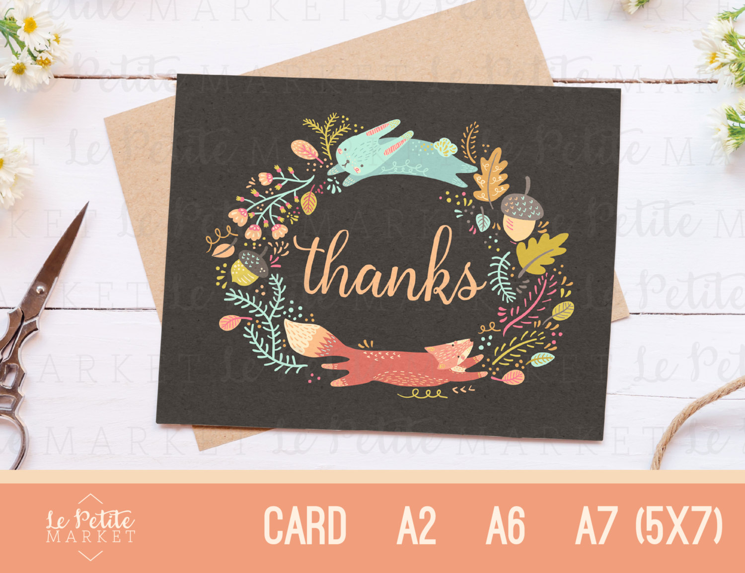 14+ Rustic Greeting Card Designs & Examples – PSD, AI