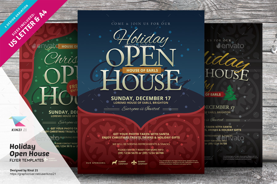 16 open house flyer designs examples psd ai. Black Bedroom Furniture Sets. Home Design Ideas