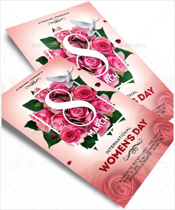 international women day flyer
