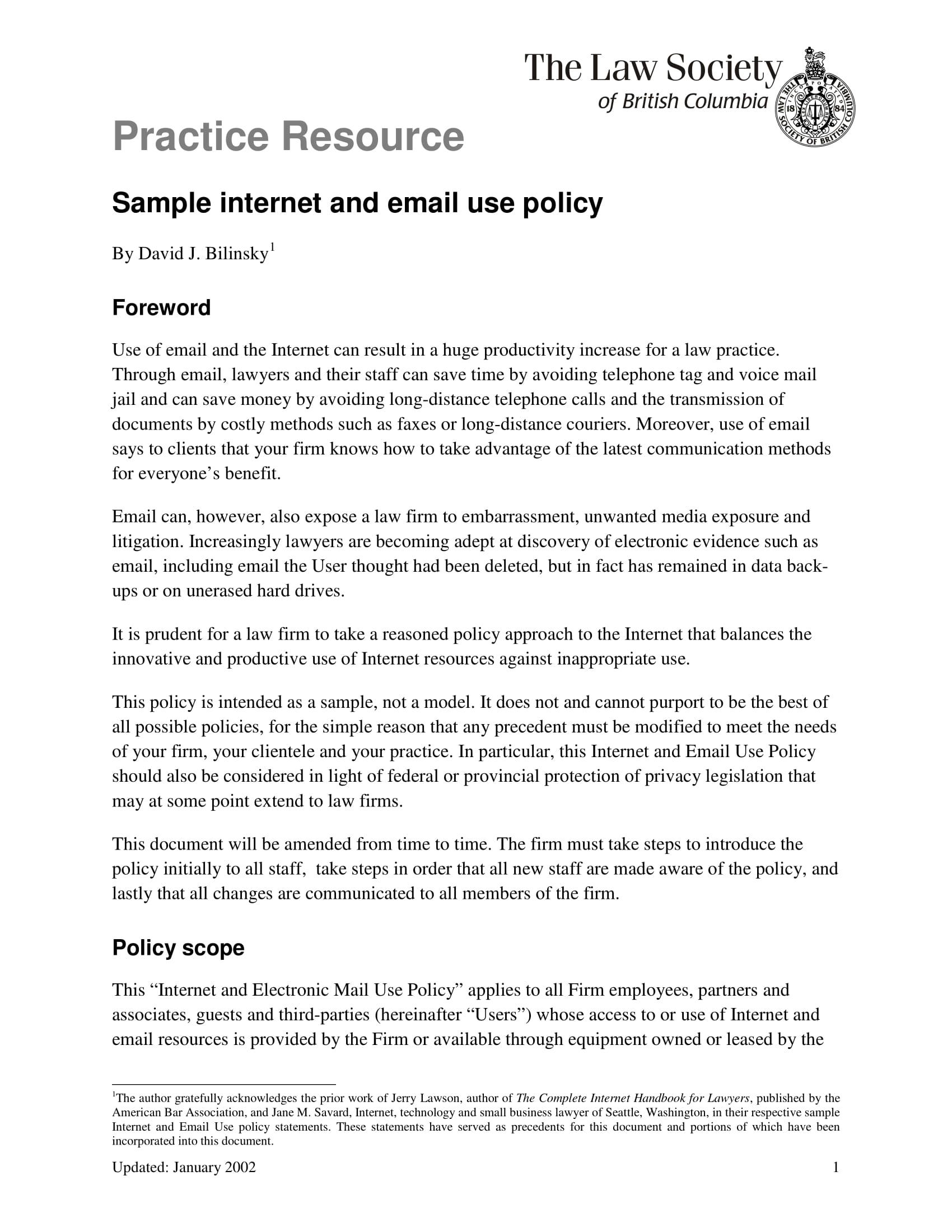 internetpolicy 1