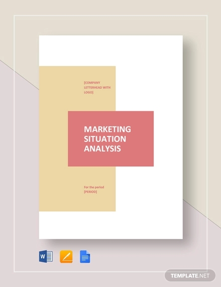 marketing situation analysis