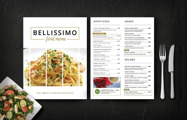 modern restaurant menu with pasta1