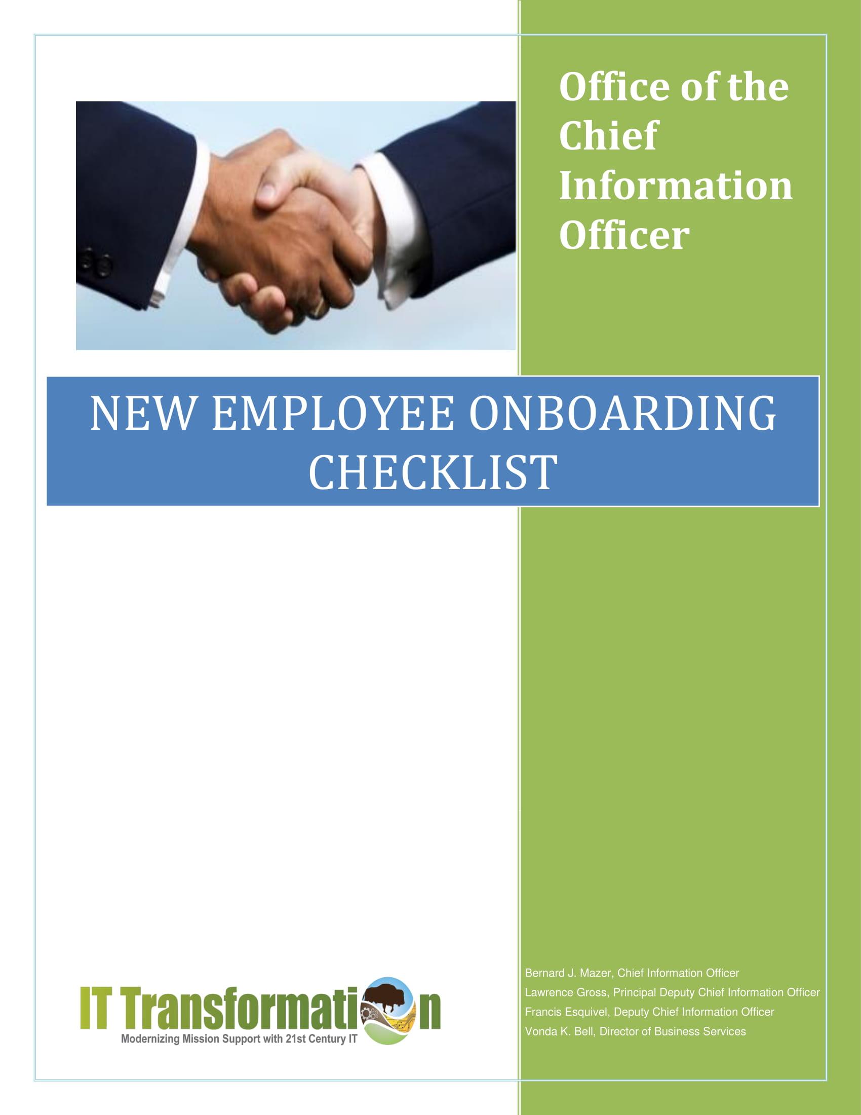 ocio employee checklist 1