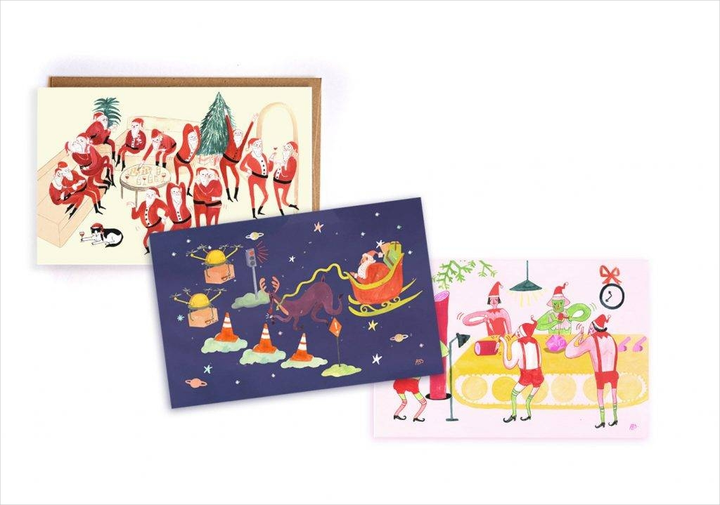 pack of greeting cards with bonus animation