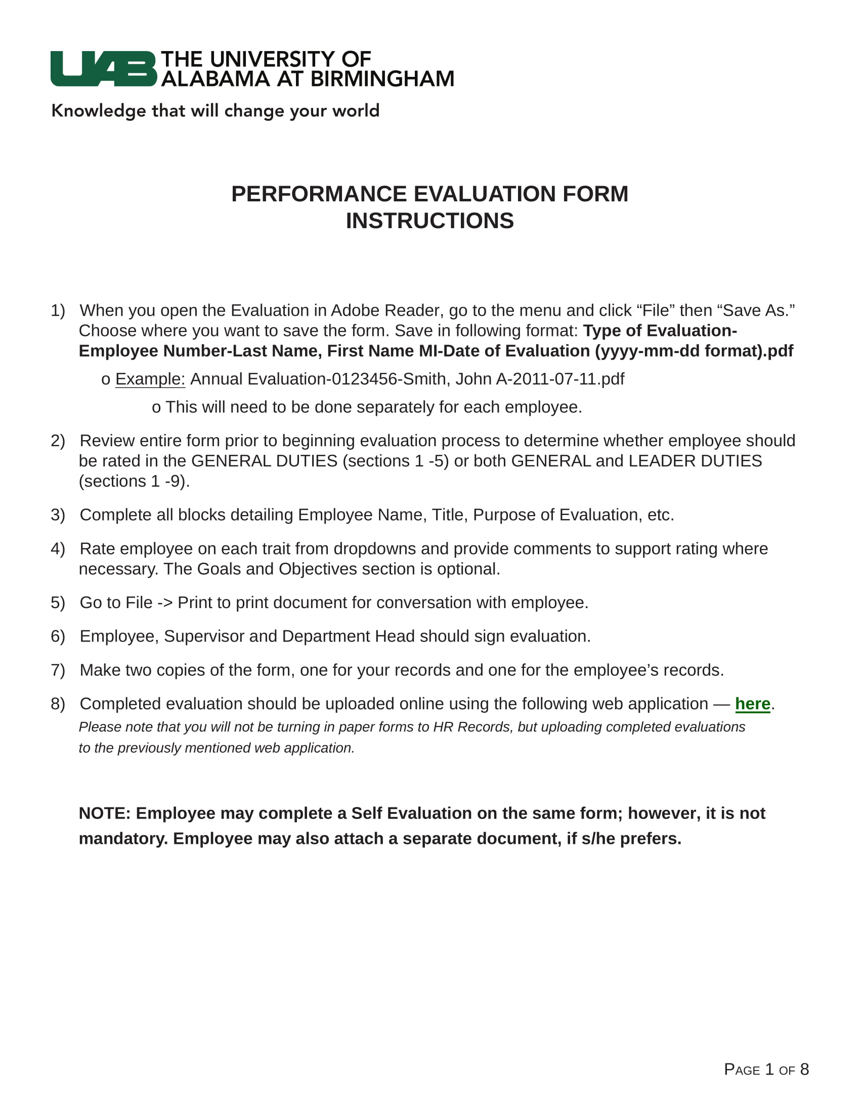 13  performance review form examples