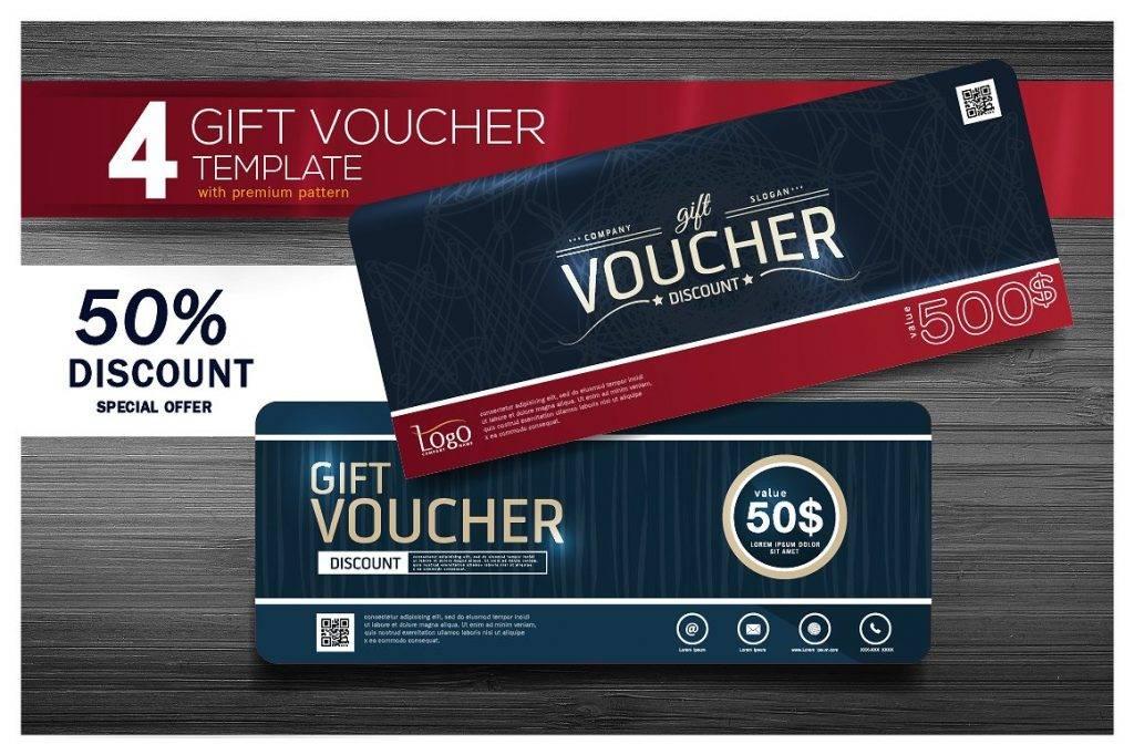 premium gift voucher template