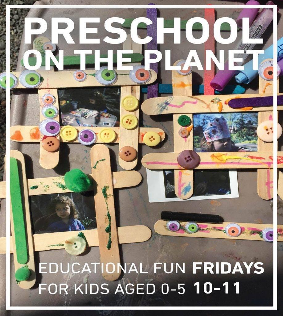 preschool on the planet flyer