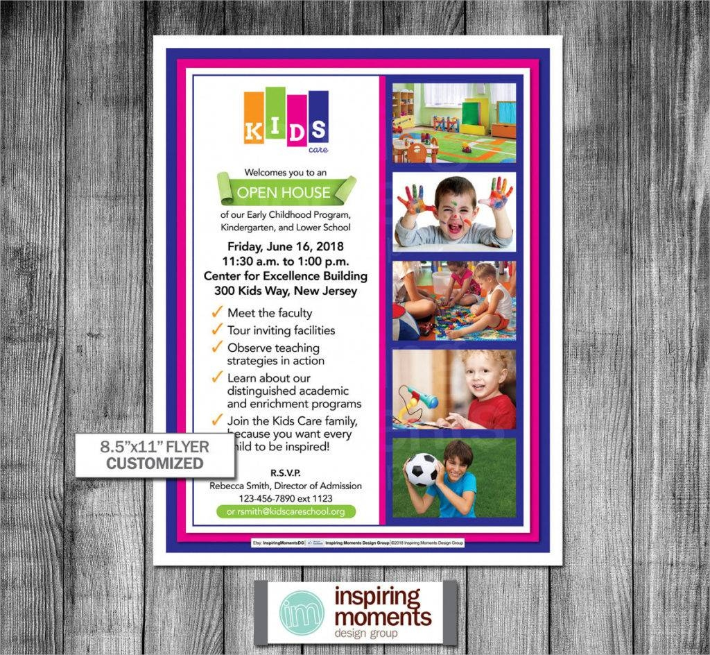 printable preschool open house event flyer1