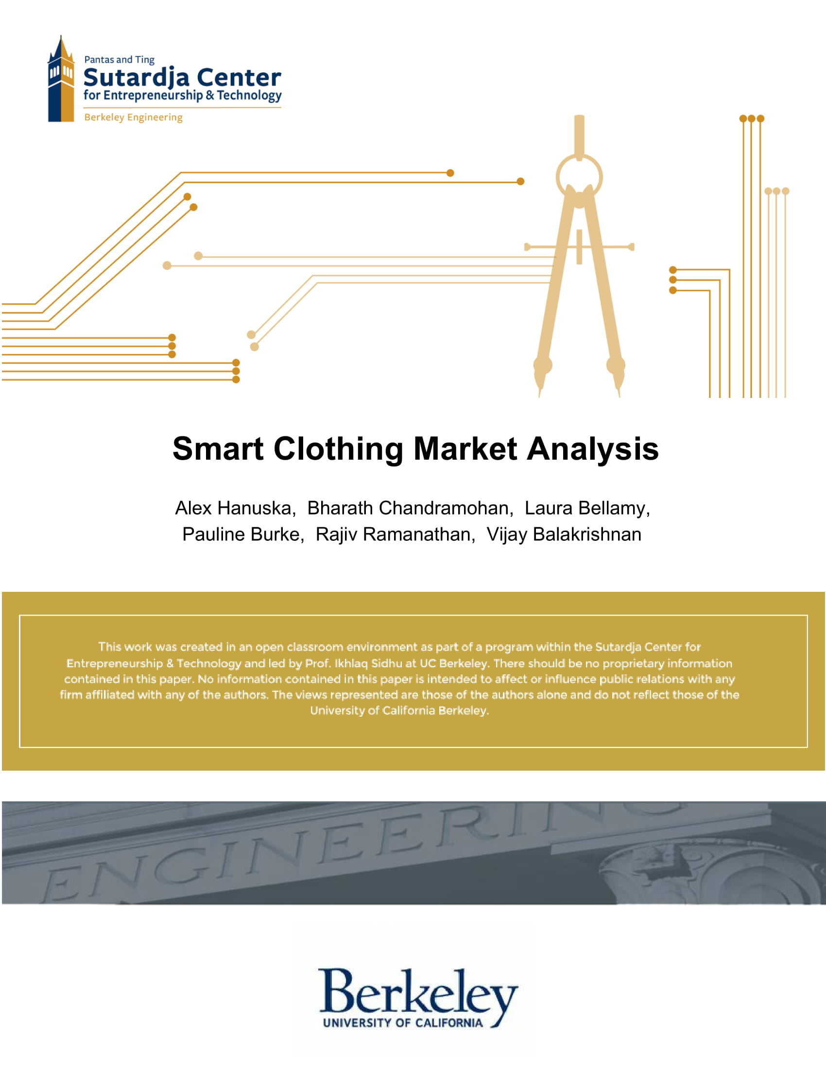 smart clothing market analysis report 01