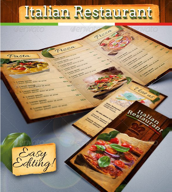 trifold pasta and pizza menu1