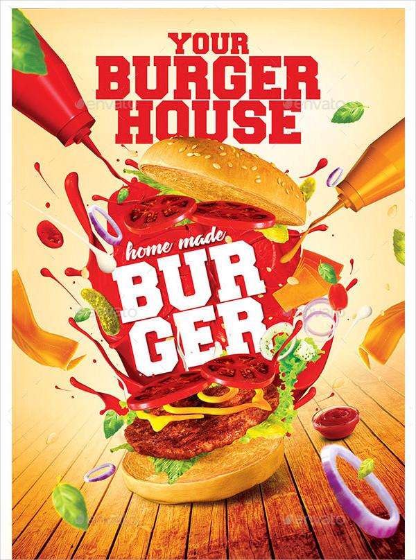 vibrant burger menu
